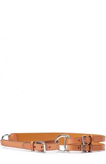 Кожаный ремень Polo Ralph Lauren