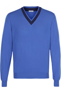 Пуловер из шерсти тонкой вязки malo