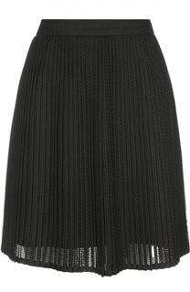 Плиссированная юбка мини Kenzo