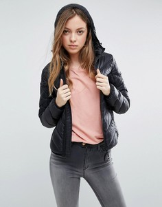 Пуховая куртка с капюшоном G-Star Alaska - Черный