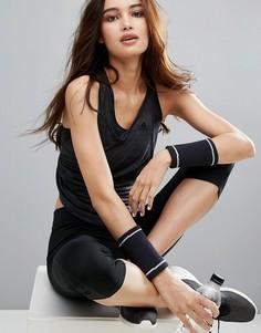 Спортивная майка с углубленной проймой adidas Training - Черный