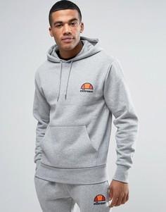 Худи с маленьким логотипом Ellesse - Серый