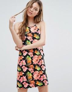 Платье с цветочным принтом Madam Rage - Мульти