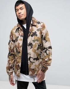 Спортивная куртка с камуфляжным принтом Dickies - Stone