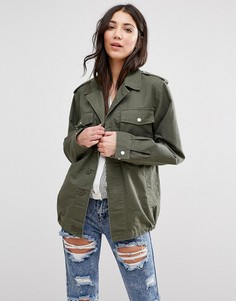 Куртка в стиле милитари Glamorous - Зеленый