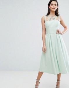 Платье с пышной юбкой The 8th Sign Cosmos - Зеленый