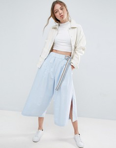 Широкие брюки ASOS - Синий