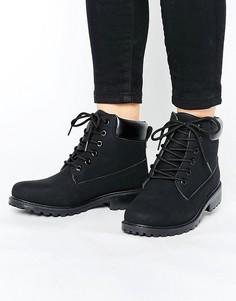Ботинки на толстой подошве Park Lane - Черный