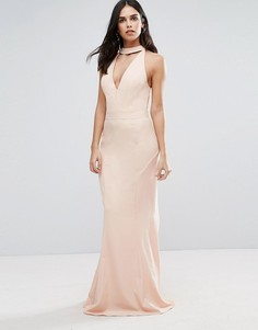Платье макси Jarlo - Розовый