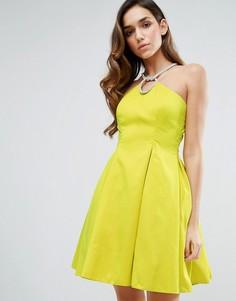 Платье с халтером Forever Unique - Зеленый