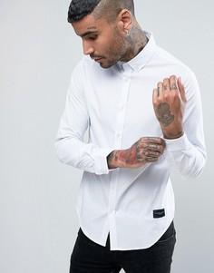 Узкая рубашка Criminal Damage - Белый