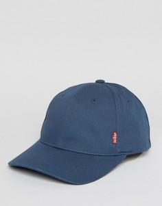 Классическая синяя бейсболка Levis - Синий Levis®