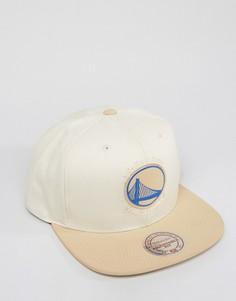 Бейсболка Mitchell & Ness Serve Golden State Warriors - Stone