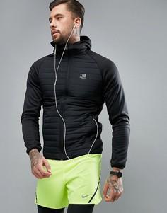 Стеганая куртка с капюшоном Jack & Jones Tech - Черный
