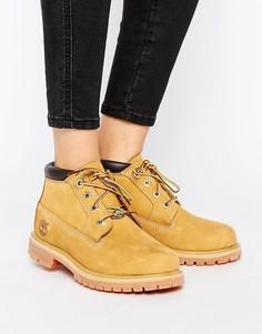 Ботинки чукка на двойной шнуровке и плоской подошве Timberland Nellie - Бежевый