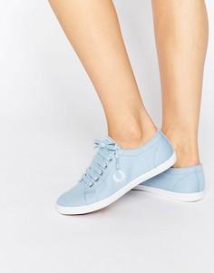 Синие кроссовки Fred Perry Kingston - Синий