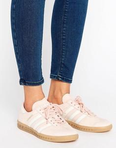 Розовые кроссовки Adidas Hamburg - Розовый