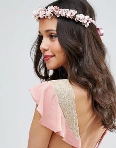 Украшение для волос с цветами и завязкой ASOS Occasion - Мульти