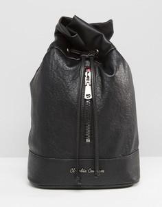 Объемный рюкзак с молнией Claudia Canova - Черный