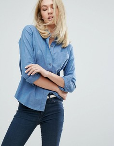 MiH Jeans Sansel Minimal Shirt - Синий