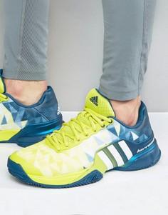Кроссовки Adidas Tennis Barricade 2016 Boost - Зеленый