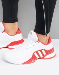 Кроссовки Adidas Tennis Barricade 2016 Boost - Белый