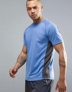 Синяя футболка для бега Puma 51382317 - Синий