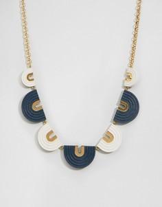 Ожерелье-воротник Wolf & Moon Arches - Мульти