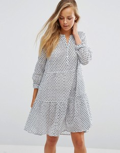 Платье с цветочным принтом Maison Scotch - Белый