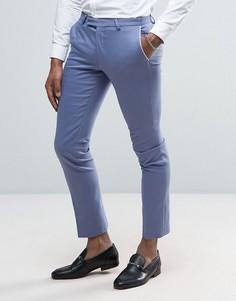 Супероблегающие брюки Noose & Monkey Wedding - Синий