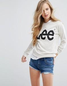 Свитшот с логотипом Lee - Кремовый