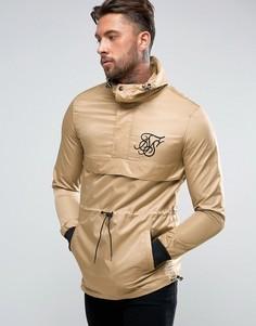 Куртка песочного цвета через голову SikSilk - Stone