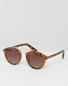 Солнцезащитные очки в черепаховой оправе Vero Moda - Мульти