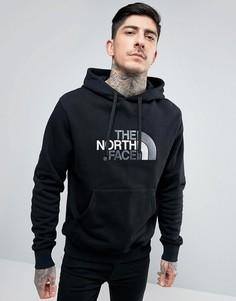 Черный худи с большим логотипом The North Face Drew Peak - Черный