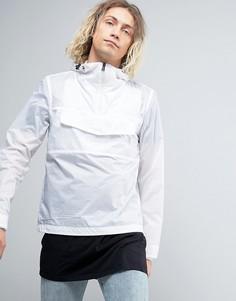 Легкая белая куртка с капюшоном Napapijri Asheville - Белый