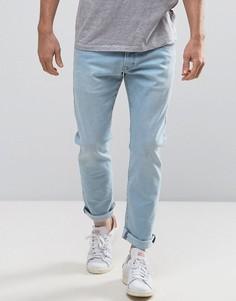Выбеленные джинсы скинни Esprit - Синий