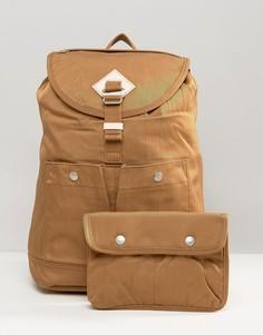 Рюкзак цвета хаки Doughnut Montana - Коричневый