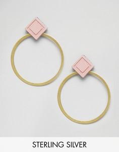 Серьги-кольца Wolf & Moon - Золотой
