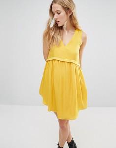 Свободное платье с карманами d.RA Alhena - Желтый