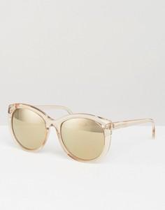 Солнцезащитные очки кошачий глаз Somedays Lovin - Бежевый