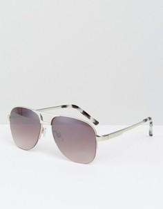 Солнцезащитные очки-авиаторы Somedays Lovin - Серебряный