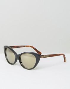Солнцезащитные очки кошачьи глаза Michael Kors - Черный