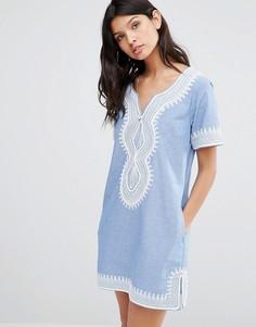 Летнее платье миди Maison Scotch - Синий