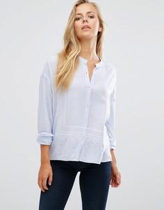 Легкая рубашка с вышивкой Maison Scotch - Белый