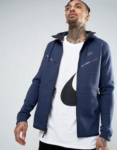 Худи синего цвета Nike 805144-473 - Синий
