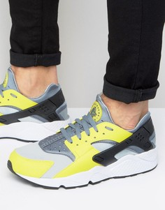 Желтые кроссовки для бега Nike Air Huarache 318429-305 - Желтый