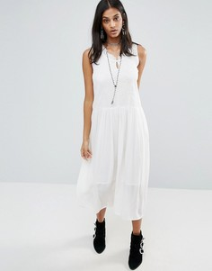 Платье миди Raga Sheer Love - Белый