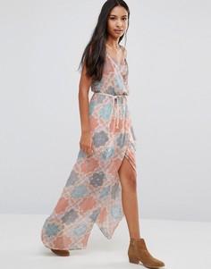 Платье с пальмовым принтом Pepe Jeans - Мульти