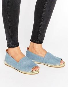 Эспадрильи с открытым носком KG Becca - Синий