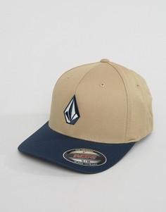 6-панельная шапка Volcom Full Stone Xfit - Бежевый